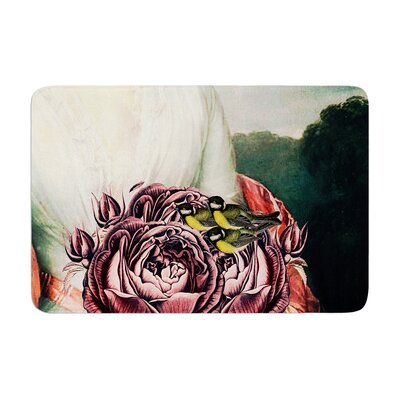 Suzanne Carter the Bouquet Memory Foam Bath Rug