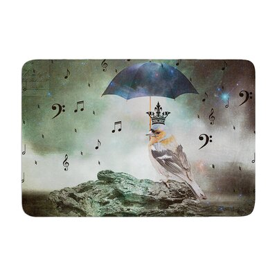 Suzanne Carter Umbrella Bird Memory Foam Bath Rug