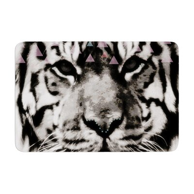 Suzanne Carter Tiger Face Animal Memory Foam Bath Rug