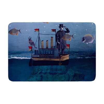 Suzanne Carter the Voyage Memory Foam Bath Rug