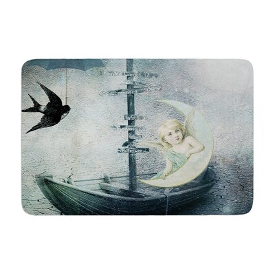Suzanne Carter Rain Memory Foam Bath Rug