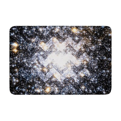 Suzanne Carter Messier Chevron Memory Foam Bath Rug