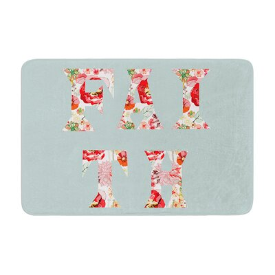 Suzanne Carter FAITH Memory Foam Bath Rug