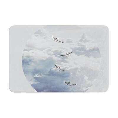 Suzanne Carter Feathers Memory Foam Bath Rug