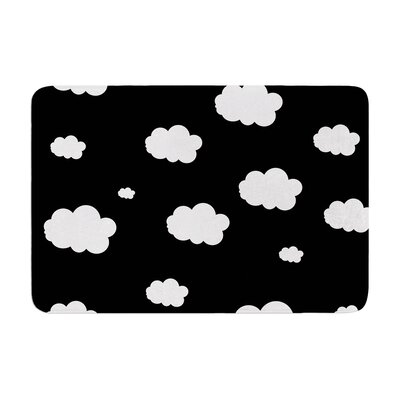 Suzanne Carter Clouds Memory Foam Bath Rug