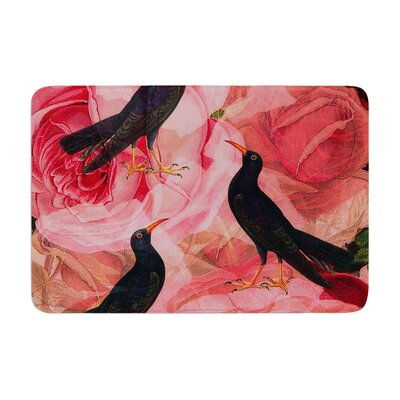 Suzanne Carter Song Bird Cush Memory Foam Bath Rug