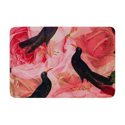 Suzanne Carter Song Bird Cush Memory Foam Bath Rug