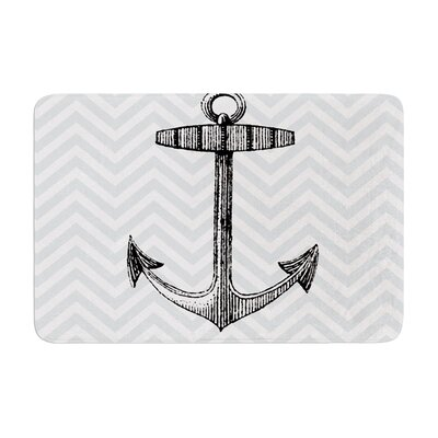 Suzanne Carter Anchor Memory Foam Bath Rug