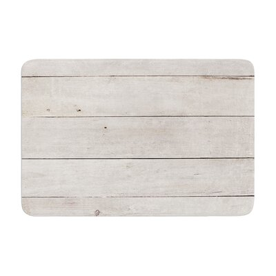 Susan Sanders Wash Wood Memory Foam Bath Rug