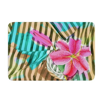 S. Seema Z Lilly n Stripes Memory Foam Bath Rug