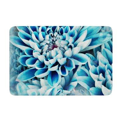 Susan Sanders Floral Paradise Flower Memory Foam Bath Rug
