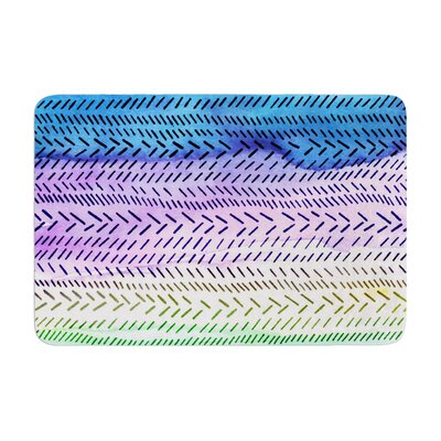 Sreetama Ray Cool Paint Memory Foam Bath Rug