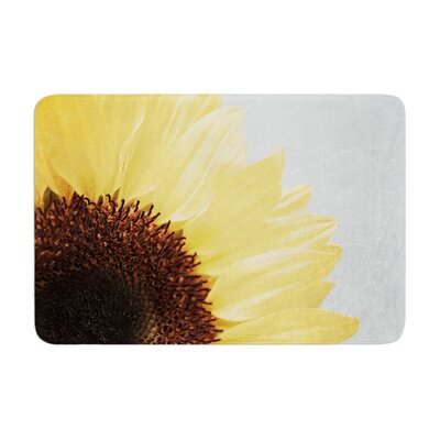 Susannah Tucker Sunshine Sunflower Memory Foam Bath Rug