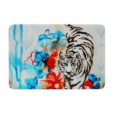 Sonal Nathwani Tiger Memory Foam Bath Rug