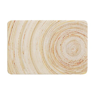 Susan Sanders Ring of Life Memory Foam Bath Rug