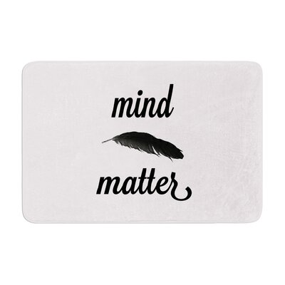 Skye Zambrana Mind Over Matter II Memory Foam Bath Rug