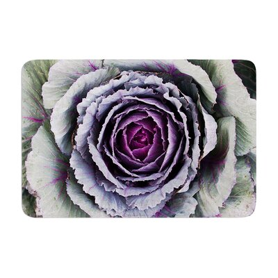 Susan Sanders Flower Love Memory Foam Bath Rug