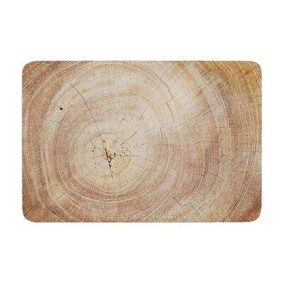 Susan Sanders Aging Tree Wooden Memory Foam Bath Rug