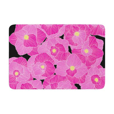 Skye Zambrana in Bloom Floral Memory Foam Bath Rug