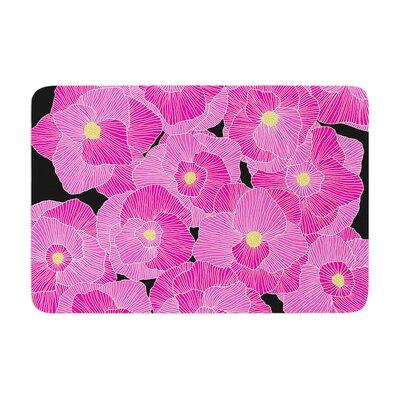 Skye Zambrana in Bloom Floral Memory Foam Bath Rug
