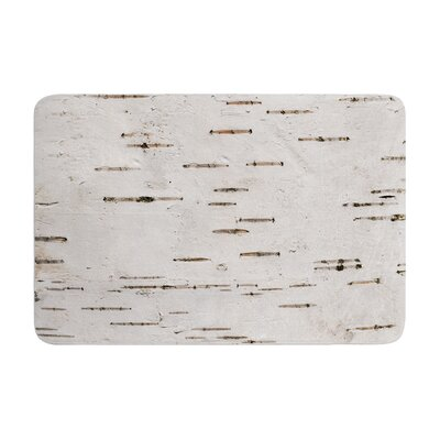 Susan Sanders Painted Tree Rustic Memory Foam Bath Rug