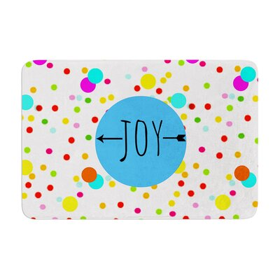 Sreetama Ray Oh Joy Memory Foam Bath Rug