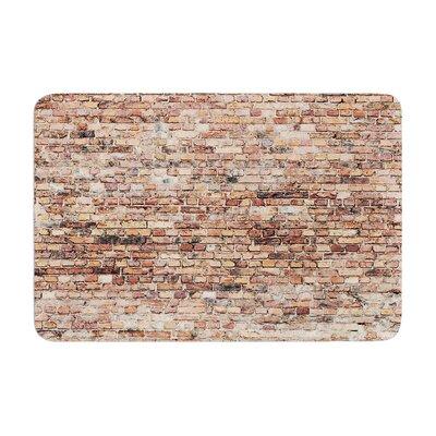 Susan Sanders Rustic Bricks Memory Foam Bath Rug