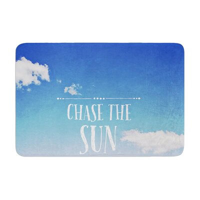 Susannah Tucker Chase the Sun Beach Sky Memory Foam Bath Rug
