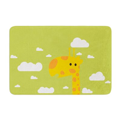 Strawberringo Baby Giraffe Memory Foam Bath Rug