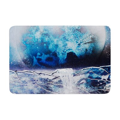 Infinite Spray Art Surreal Falls Planet Memory Foam Bath Rug