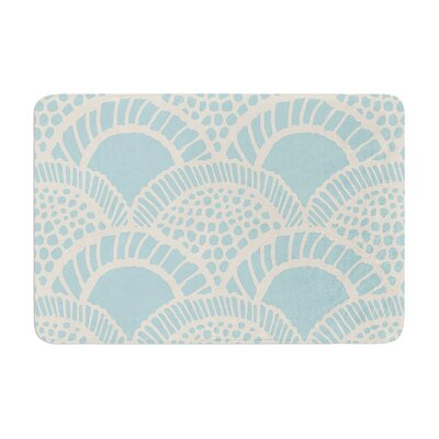 Suzie Tremel Heathered Scales Memory Foam Bath Rug