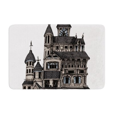Sophy Tuttle House of Usher Haunted Memory Foam Bath Rug