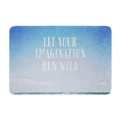 Susannah Tucker Let Your Imagination Run Wild Ocean Memory Foam Bath Rug