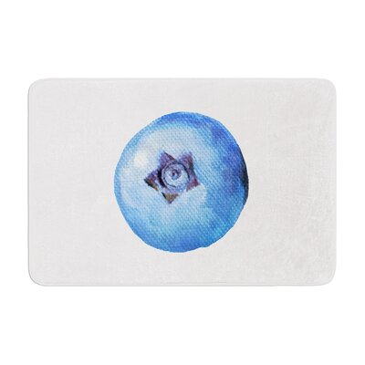 Theresa Giolzetti Blueberry Memory Foam Bath Rug