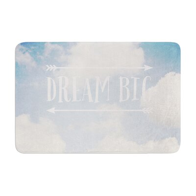 Susannah Tucker Dream Big Clouds Memory Foam Bath Rug