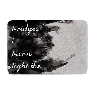 Skye Zambrana Bridges Memory Foam Bath Rug
