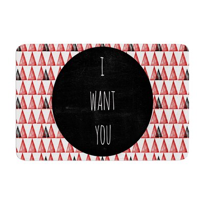 Skye Zambrana I Want You Memory Foam Bath Rug