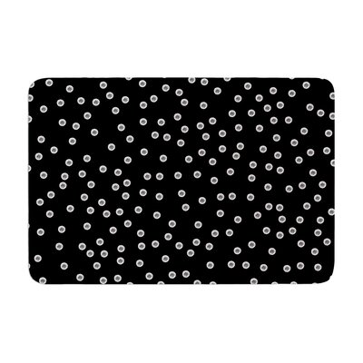 Skye Zambrana Watercolor Dots Memory Foam Bath Rug