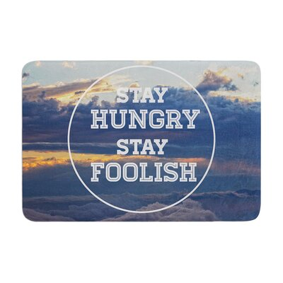 Skye Zambrana Stay Hungry Memory Foam Bath Rug