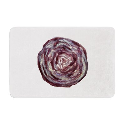 Theresa Giolzetti Cabbage Memory Foam Bath Rug