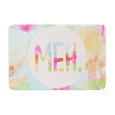 Skye Zambrana Meh Watercolor Memory Foam Bath Rug