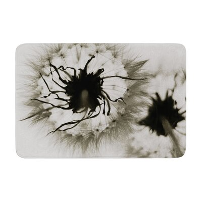 Skye Zambrana Wishes Flower Memory Foam Bath Rug