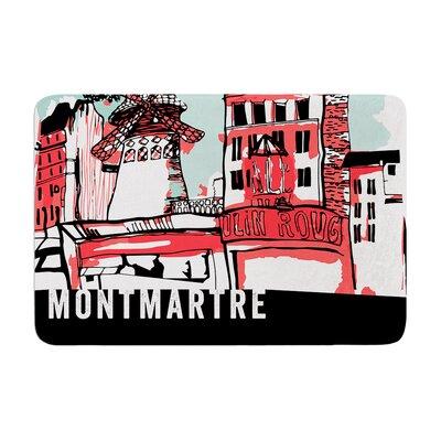 Theresa Giolzetti Montmartre Memory Foam Bath Rug