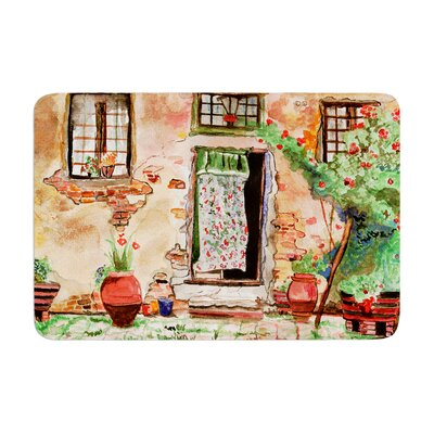 Theresa Giolzetti Tuscan Door Memory Foam Bath Rug