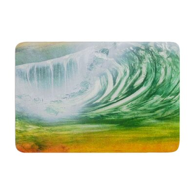 Infinite Spray Art Cant Get Enough Memory Foam Bath Rug