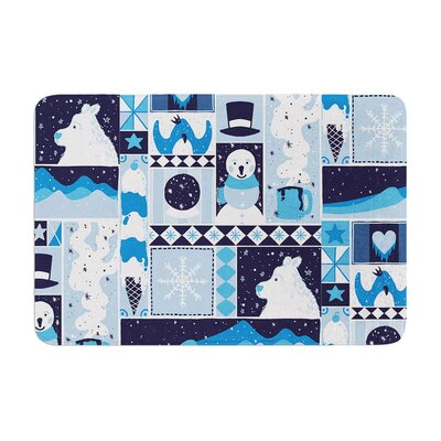 Tobe Fonseca Winter Seasonal Memory Foam Bath Rug