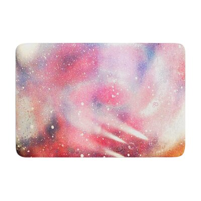 Infinite Spray Art Cascade Swirl Memory Foam Bath Rug