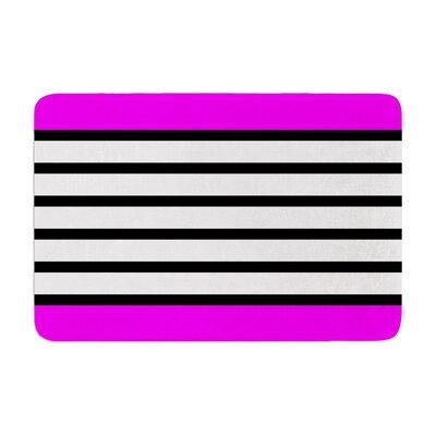 Trebam Sest Redaka Memory Foam Bath Rug Color: Pink