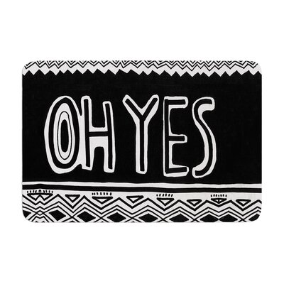 Vasare Nar Oh Yes Memory Foam Bath Rug