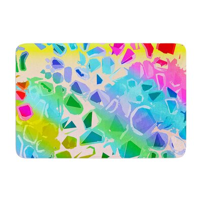 Vikki Salmela Jungle Talk Memory Foam Bath Rug